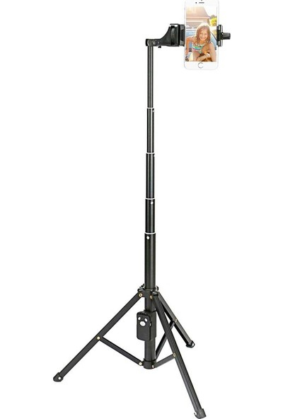 Appa 134Cm Kaliteli Bluetooth Monopod Gopro Selfie Çubuğu Tripod Vct-1688