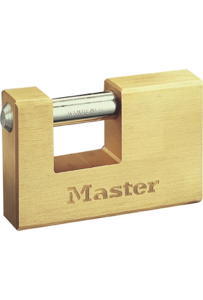 Master Lock Yatay Kilit Masif Pirinç 60 mm 606EURD