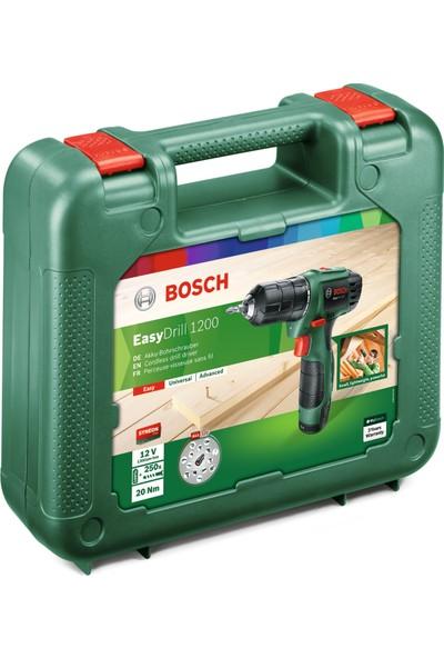 Bosch EasyDrill 1200 (1,5 Ah Tek Akü) Akülü Vidalama