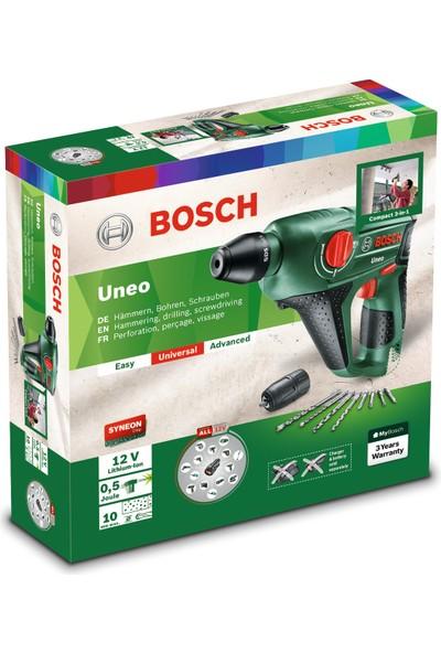 Bosch Uneo 12 LI Baretool (Akü ve Şarj Cihazı Dahil Değil) Akülü Darbeli Delme/Vidalama Makinesi