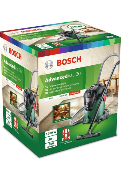 Bosch AdvancedVac 20 Elektrikli Süpürge