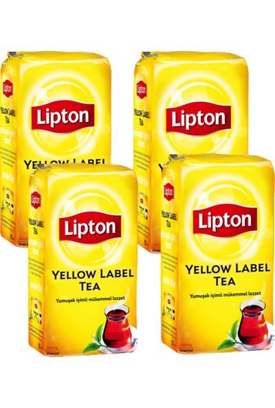 Lipton Yellow Label Dökme Çay 1000 gr 4'lü