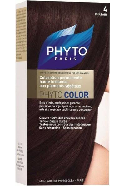 Phyto Color 4 Saç Boyası (Kestane)