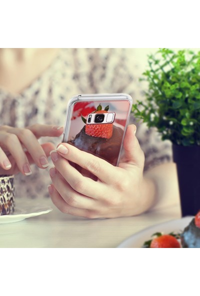 Ringke Mirror Fusion Galaxy S8 Aynalı Kılıf Silver - Extra Darbe Emici