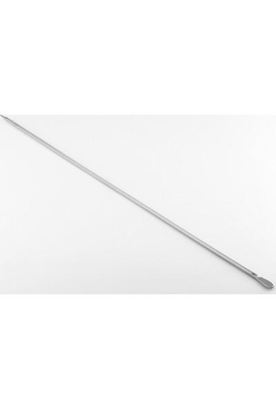 Gönen Çelik Şiş Paslanmaz Çelik Kebap Şişleri 6 Adet (Ciğer Şiş)