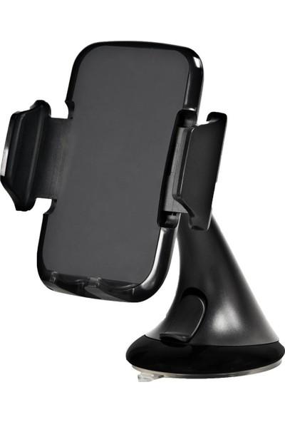 Case 4U Extreme Grip Universal Araç içi Telefon Tutucu (Tüm Modellerle Uyumlu) Siyah*