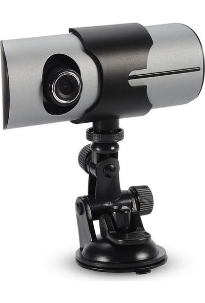 Audiomax Çift Taraflı Hd Araç İçi Kamera