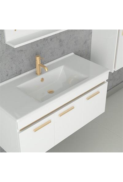 NPlus Acadia 100 cm Banyo Dolabı