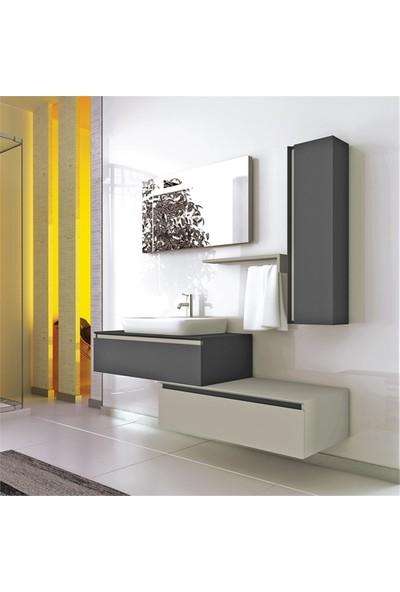 NPlus Baco 160 cm Banyo Dolabı