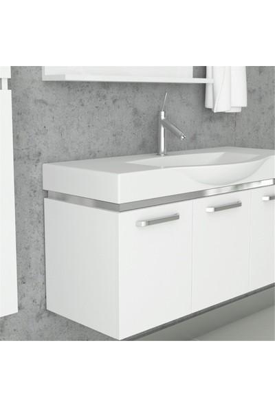 NPlus Cruze 105 cm Banyo Dolabı