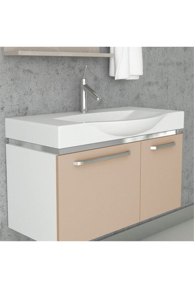NPlus Cruze 85 cm Banyo Dolabı