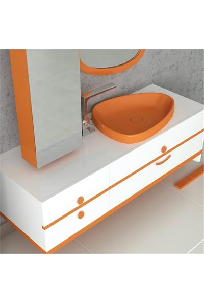 NPlus Custom 130 cm Banyo Dolabı