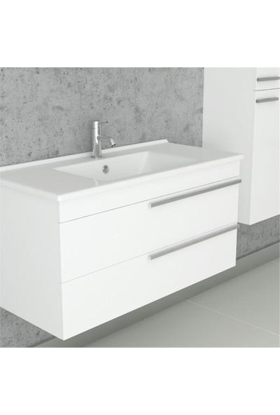 NPlus Dokker 100 cm Banyo Dolabı
