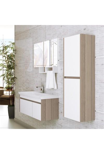 NPlus Epica 85 cm Banyo Dolabı