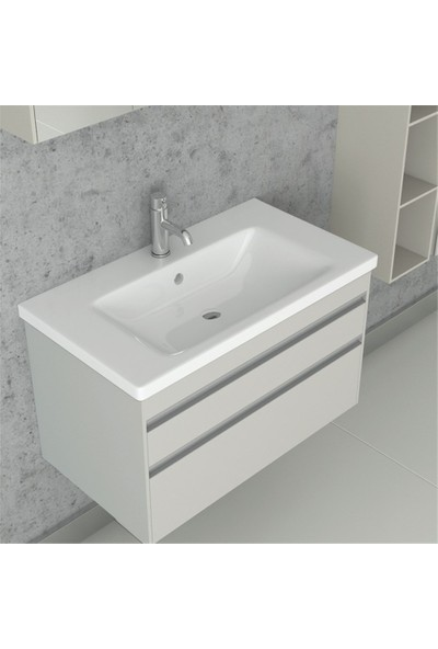 NPlus Espero 80 cm Banyo Dolabı