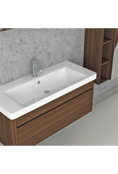 NPlus Integra 105 cm Banyo Dolabı