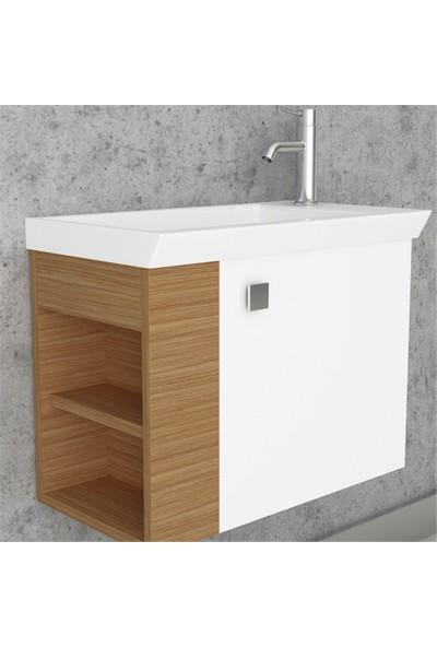 NPlus Mito 60 cm Banyo Dolabı