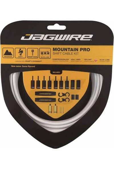 Jagwire Mountain Pro Vites Kablo Seti MTB Beyaz
