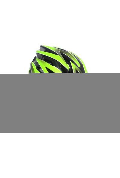 Sedona Kask Yol-MTB MV-29 Plus Vizörlü Siyah-Yeşil XL