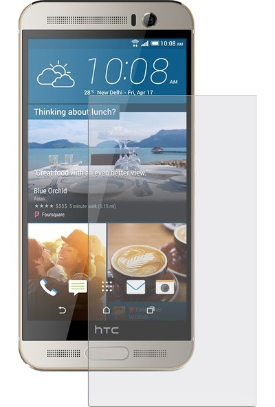 Case 4U HTC One M9+ Plus Cam Ekran Koruyucu