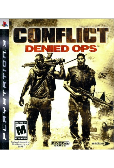 Conflict: Denied Ops™ Game PS3