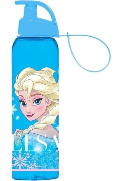 Herevin Frozen Elsa Askılı Şeffaf Suluk-Matara (750 ml)