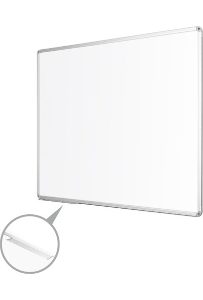 Penguen 90 cm x 120 cm Alüminyum Çerçeve Laminat Yazı Tahtası Beyaz