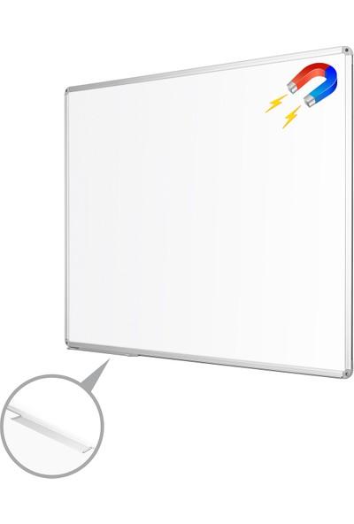 Penguen 100 cm x 180 cm Alüminyum Çerçeve Duvara Monte Manyetik Yazı Tahtası Beyaz