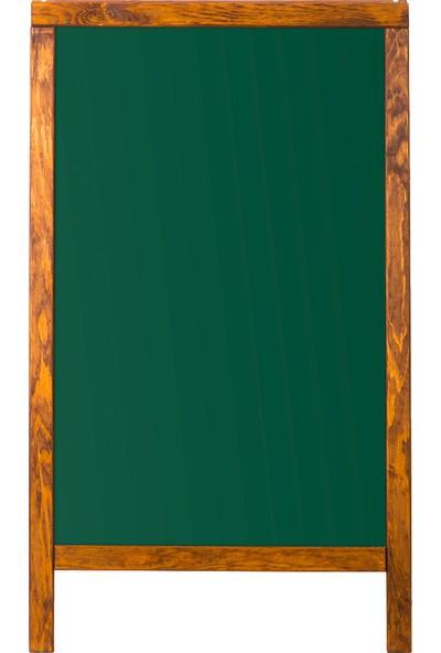 Penguen 50 cm x 100 cm Menü Tahtası Yeşil Tahta (Tebeşir Tahtası)