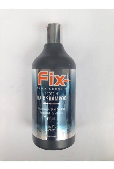 Fix Nano Keratin Protein Hair Shampoo 500 Ml Kepek Önleyici
