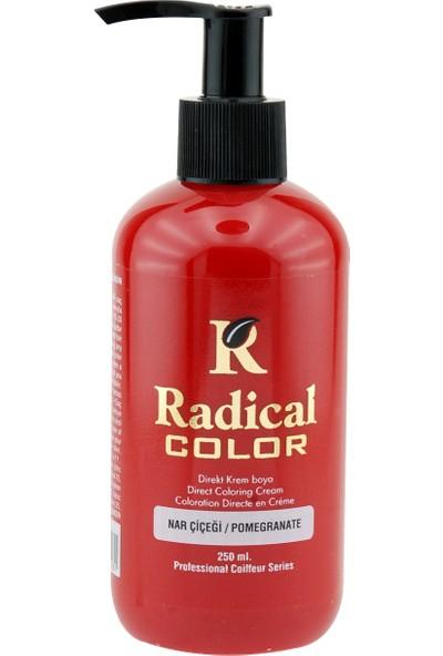 Radical Color Su Bazlı Saç Boyası (Nar Çiçeği) 250 Ml