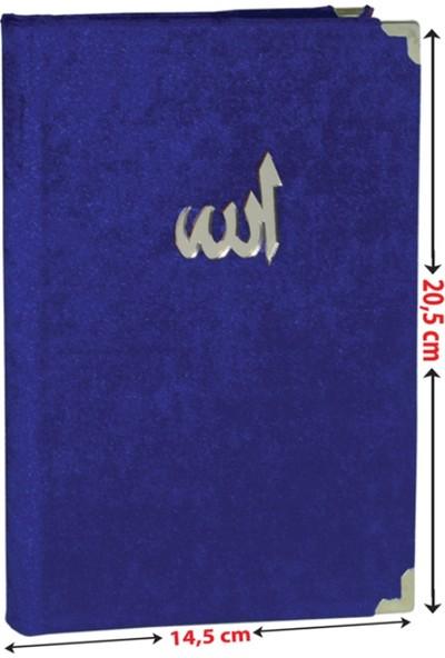 Esma-Ül Hüsna Hikmeti Ve Esrarı (Kadife Kapak-Şamua) Kod-06(Çanta Boy)