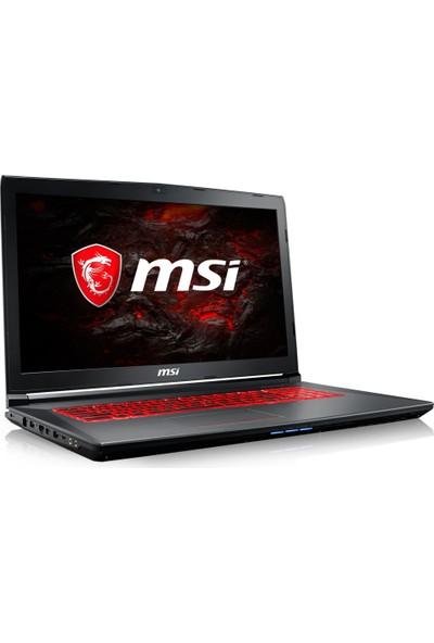 """MSI GV72 7RD-883TR Intel Core i7 7700HQ 8GB 1TB + 128GB SSD GTX1050 Windows 10 Home 17.3"""" FHD Taşınabilir Bilgisayar"""