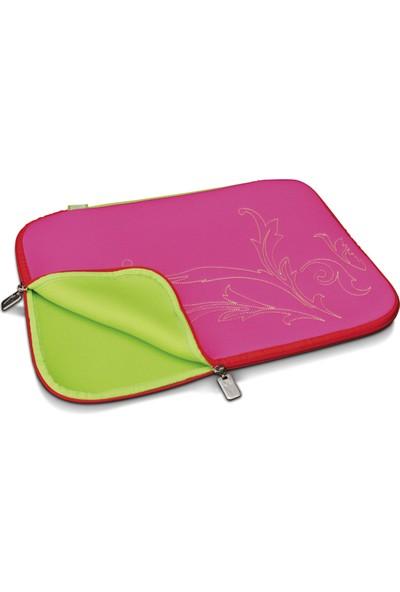 Digitus Slimbag Candy Threat Notebook Çantası, Pembe/Kırmızı Renk, 15,4 , Ebatlar: 38,5 X 28Cm