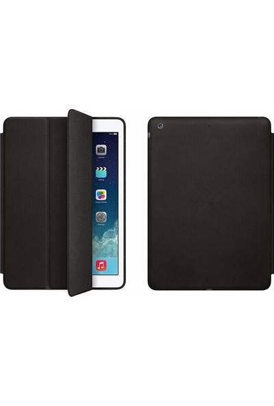 Srx Apple iPad Pro 9.7 Tam Kadifemsi Uyku Modlu Tablet Kılıfı+9H Nano 330 Derece Bükülen Ekran Koruyucu+Kalem