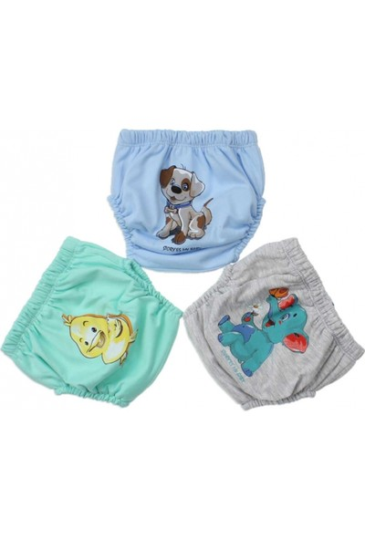 Story Baby Alıştırma Külodu Fil, Ördek ve Köpekli