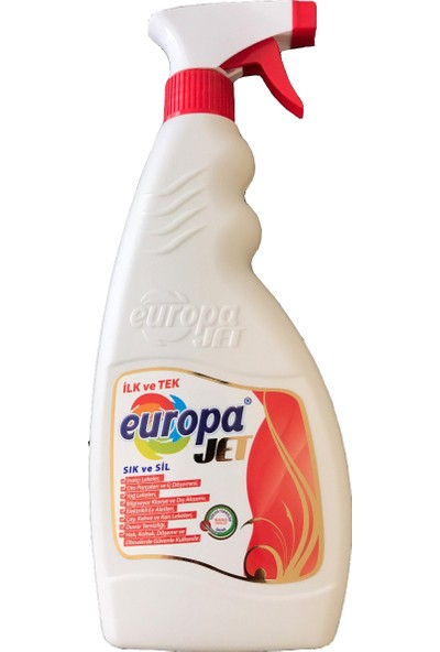 Europa Jet Çok Amaçlı Konsantre Deterjan 5 Adet 500 Gr Sprey