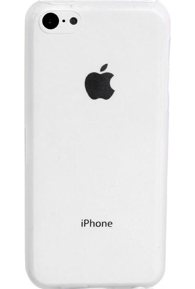 Case 4U iPhone 5c Şeffaf Kapak Ultra İnce 0,4 mm*