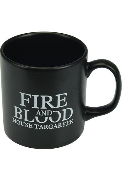 Game Of Thrones Siyah Kupa Targaryen
