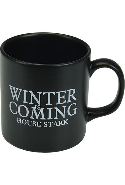 Game Of Thrones Siyah Kupa Stark