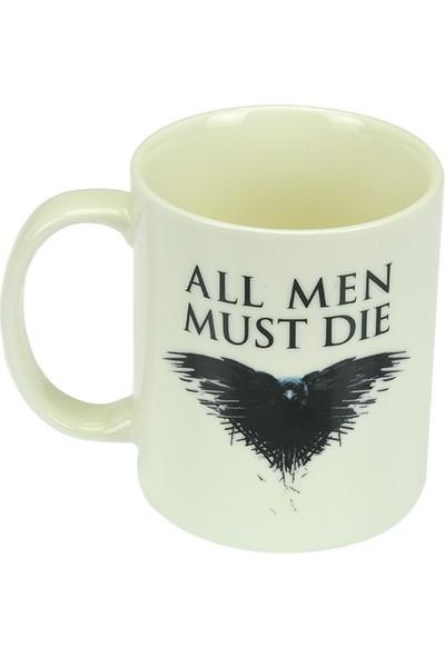 Game Of Thrones Beyaz Kupa Kuzgun