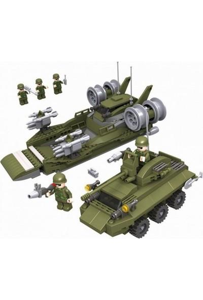 Cogo Army Asker Seti Deniz Ve Kara Operasyonu 509 Parça - 3315