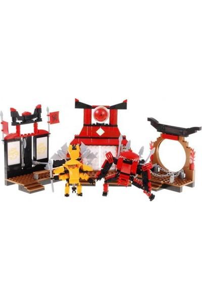 Cogo Ninja Seti Savaşçı Ninjalar 350 Parça - 4301