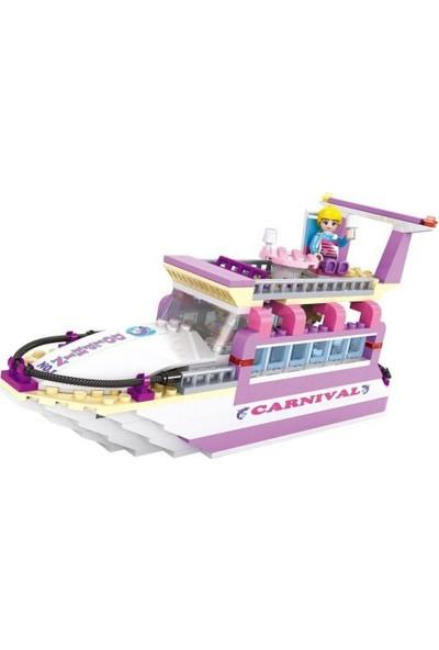 Cogo Prenses Seti Prensesin Yatı 318 Parça - 4508