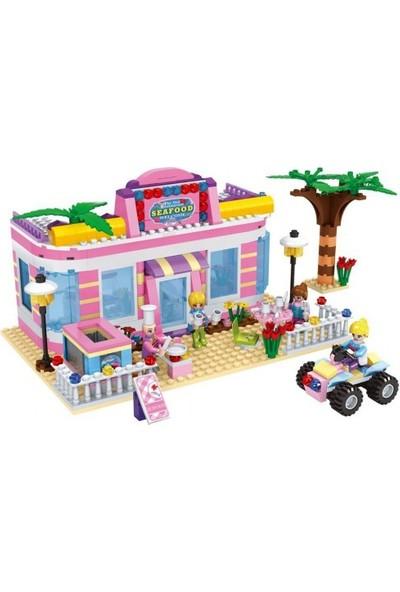 Cogo Prensesin Seti Prensesin Deniz Restorantı 500 Parça - 4509