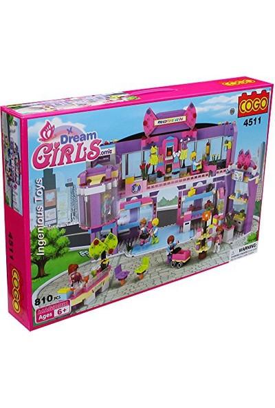 Cogo Prensesin Seti Prensesler Alışveriş Merkezinde 810 Parça - 4511