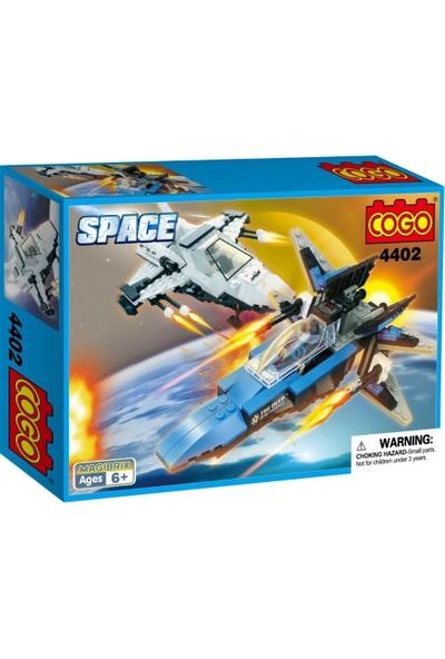 Cogo Space Uzay Seti İkili Uzay Aracı 364 Parça - 44021