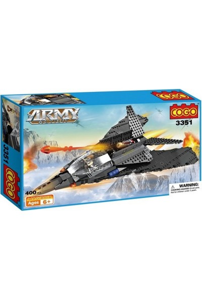 Cogo Army Asker Seti Hava Operasyonu 400 Parça - 3351