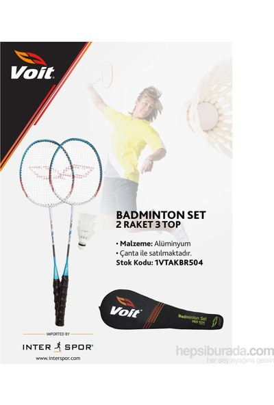 Voit Pro-504 3 Top 2 Raket Badminton