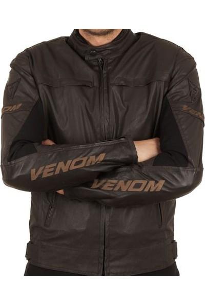 Venom Bad Wolf Deri Motosiklet Montu